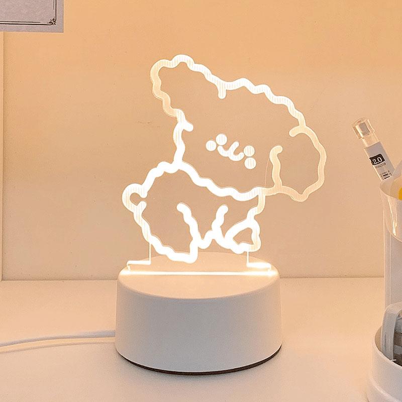 卡通3D氛围小夜灯