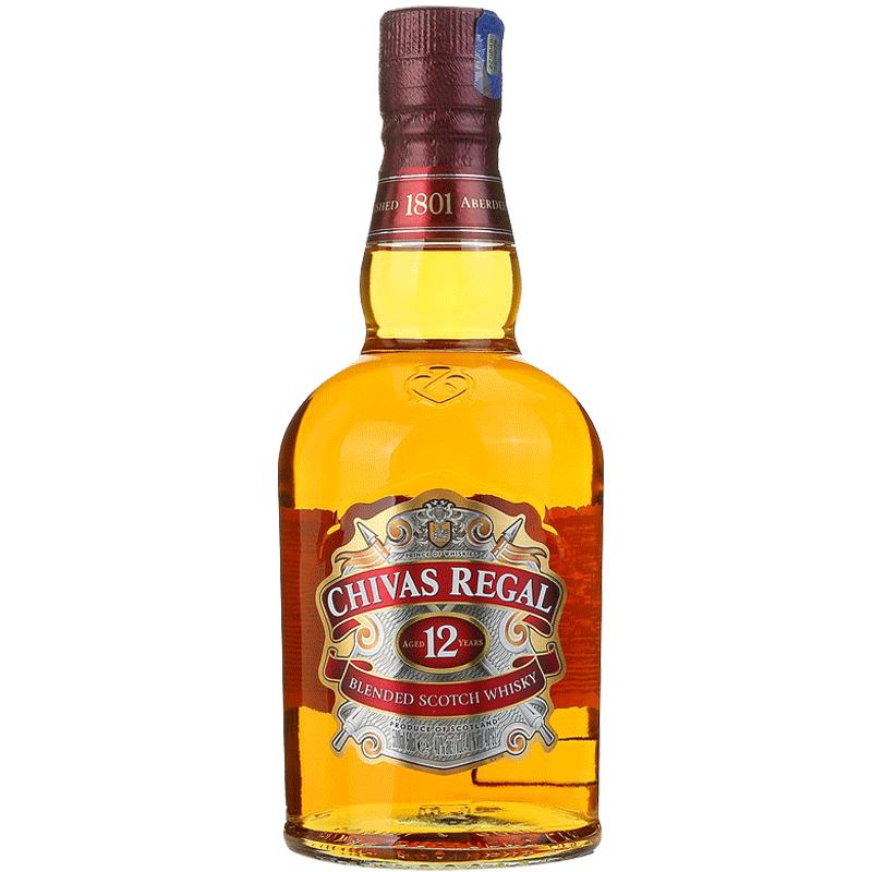 Chivas/芝华士 12年苏格兰威士忌 40度 500ml