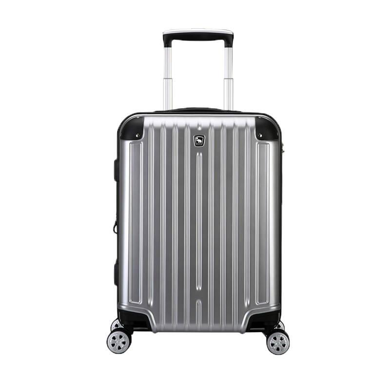 爱华仕 银色旅行行李箱