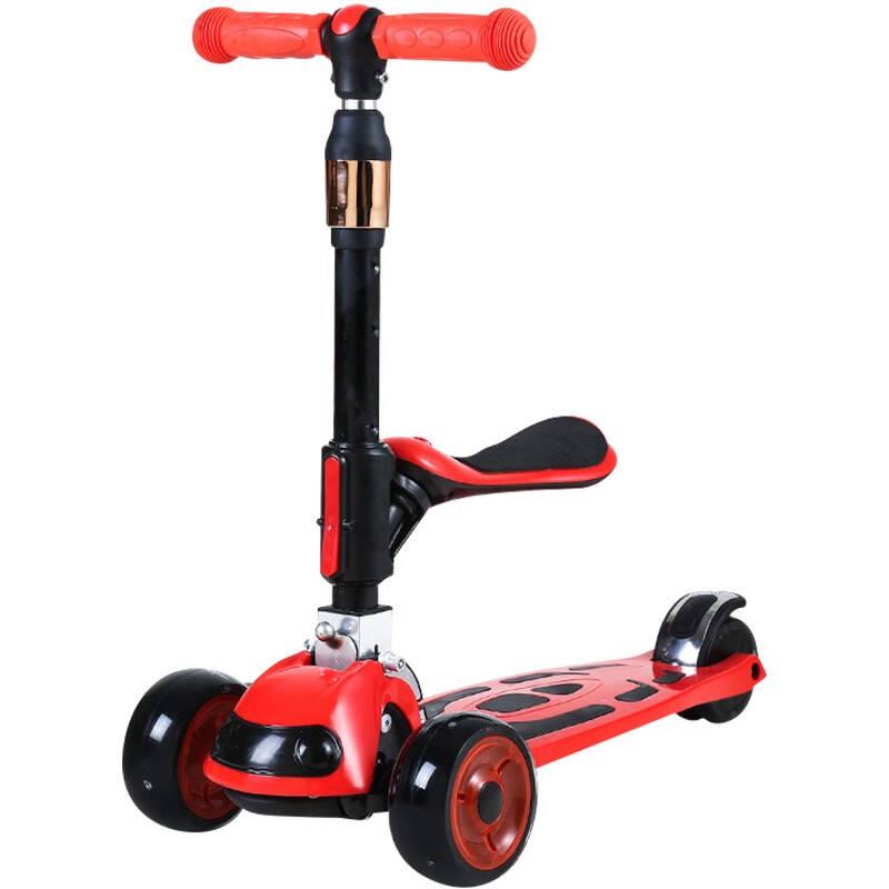 减震防侧翻的儿童滑板车排行榜