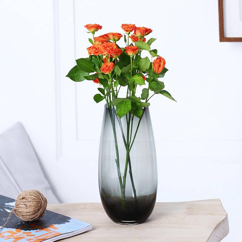 十款多面玻璃花瓶摆件推荐