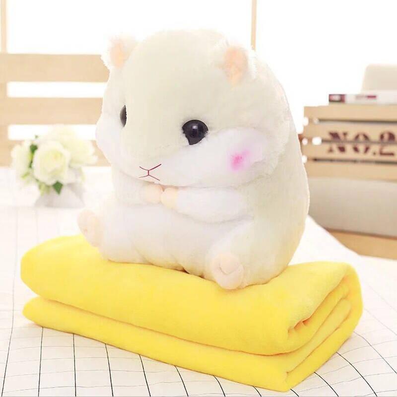 婴果小岛 毛绒仓鼠抱枕