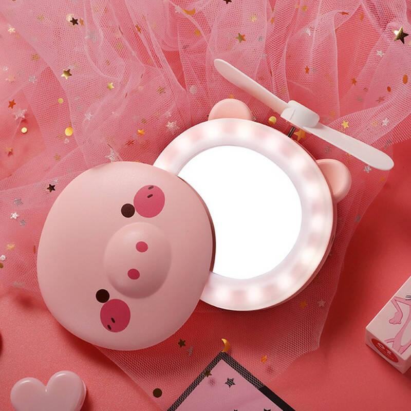 彦页 三合一网红猪猪美妆礼品