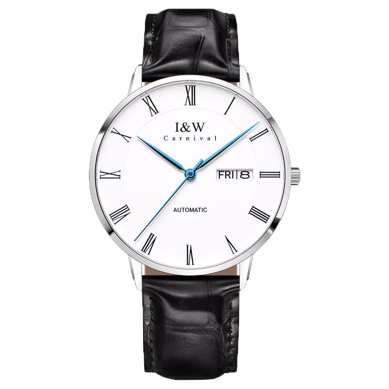 I&W 全自动男士机械手表