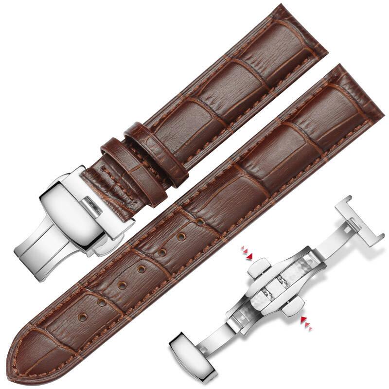 真皮手表带价格推荐2021