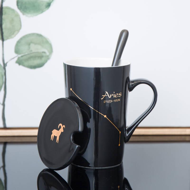 2021十款陶瓷带盖马克杯推荐