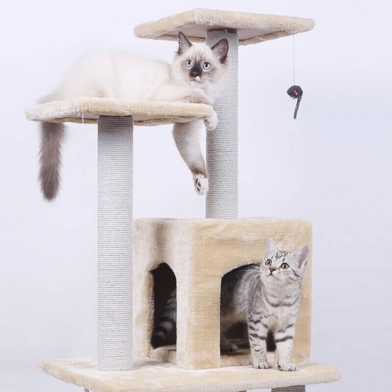 2021多层一体式猫爬架排行榜