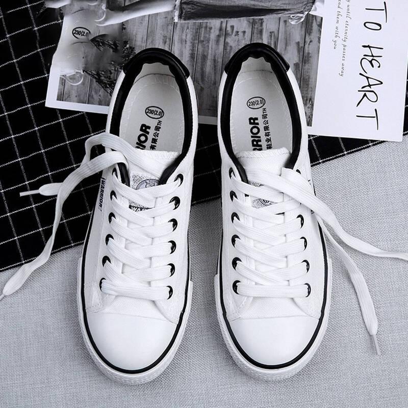2021十款好看的低帮帆布鞋