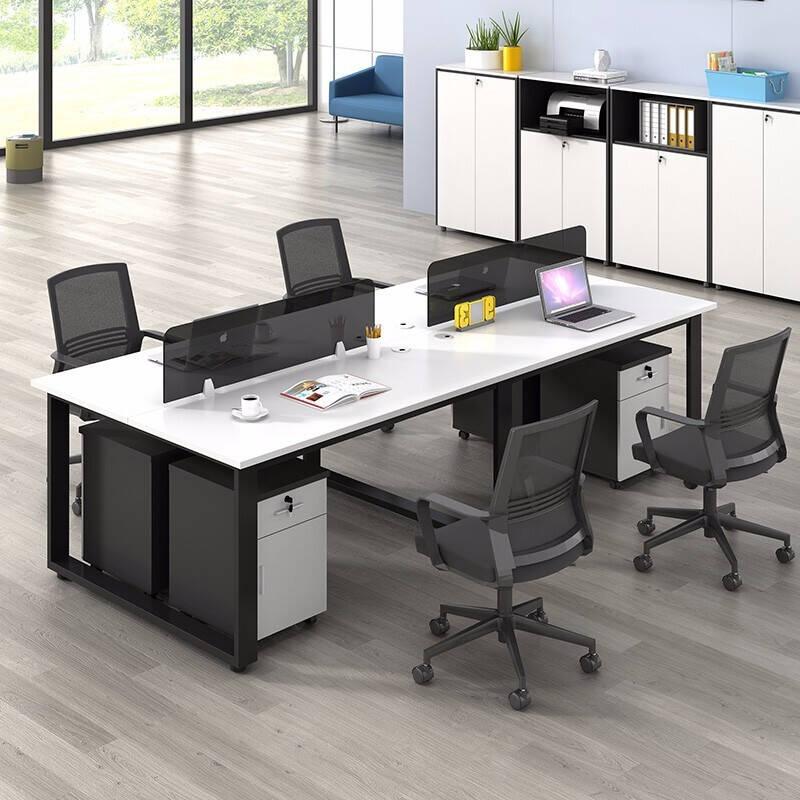 多人办公室的办公桌组合推荐