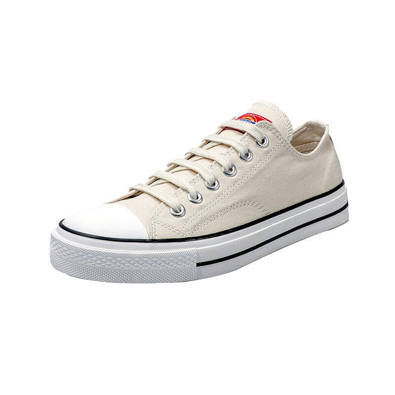 Dickies 米色低帮帆布鞋