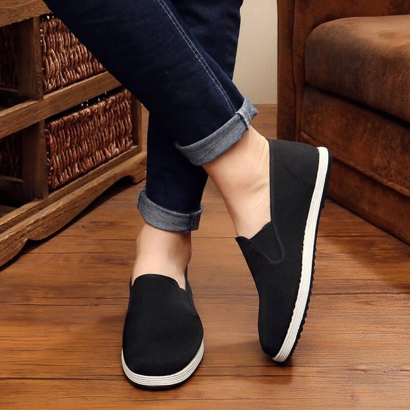 2021十款透气休闲男鞋布鞋