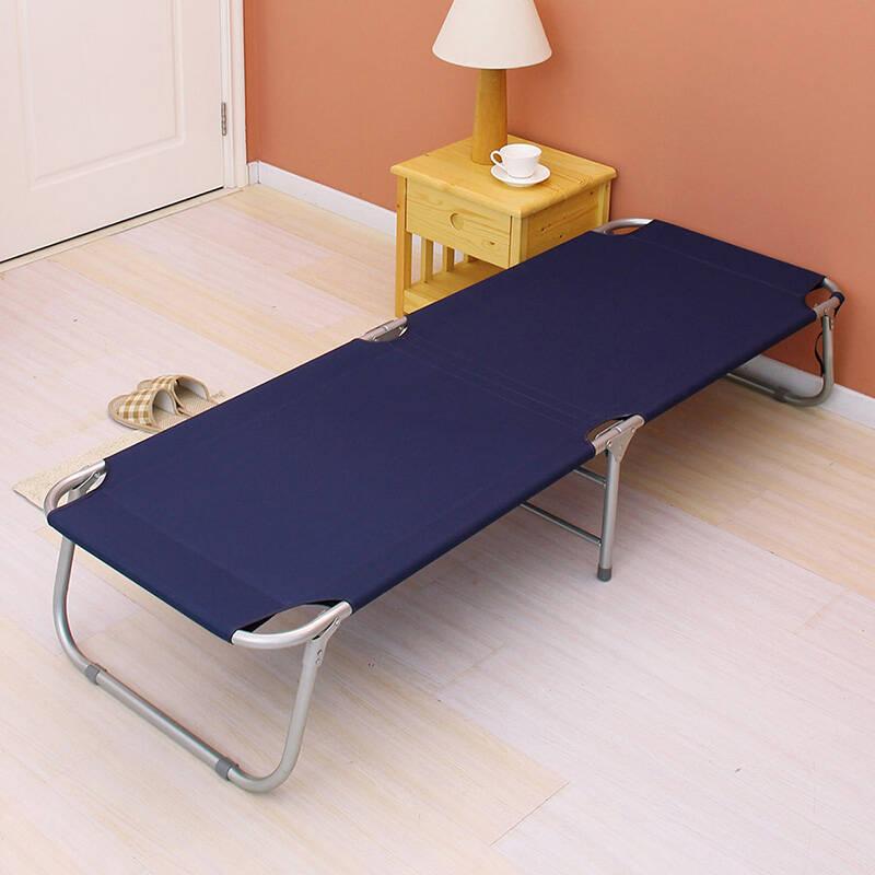 欧润哲 加厚帆布便携折叠床