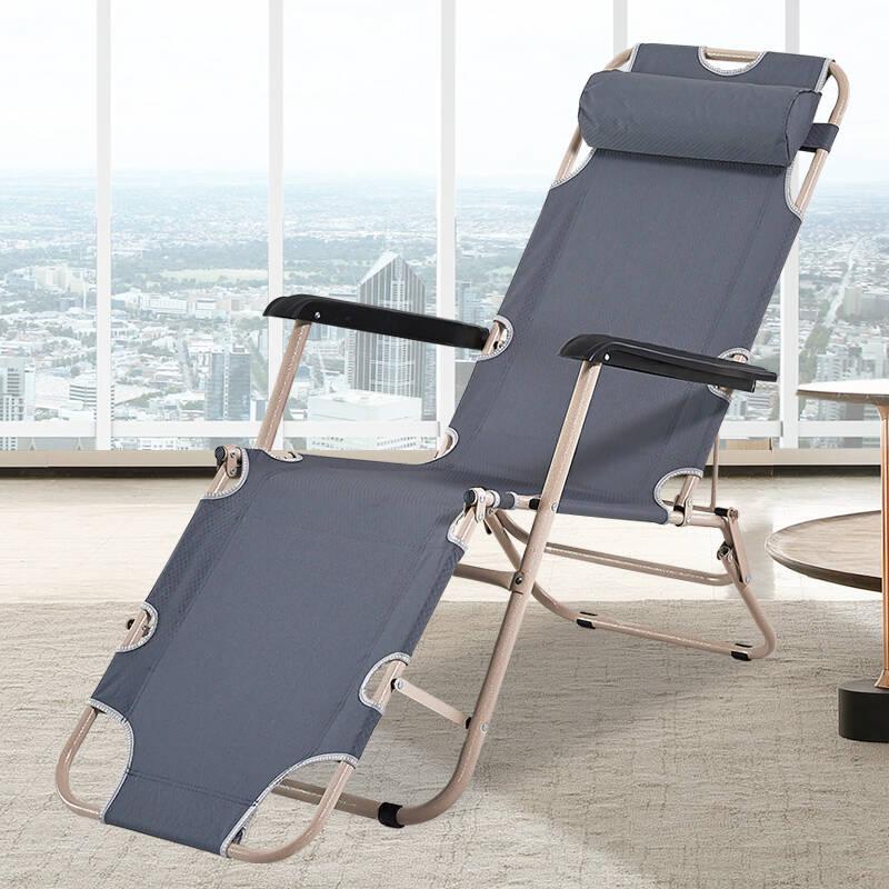 双鑫达办公室午休折叠椅子躺椅