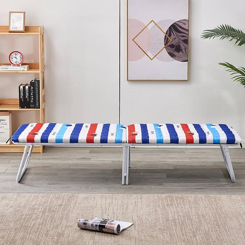 家无界 加固简易折叠行军床