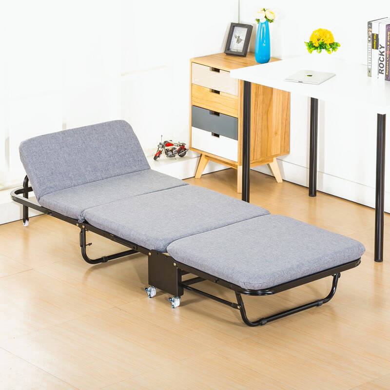 单人午休床折叠床推荐2021
