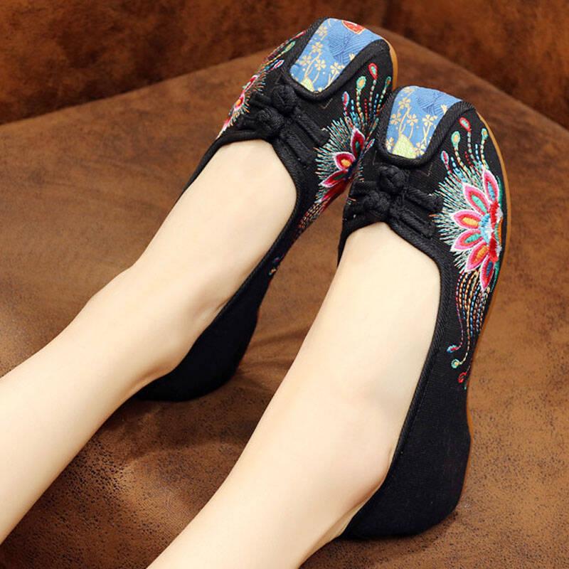 女士老北京绣花布鞋推荐2021
