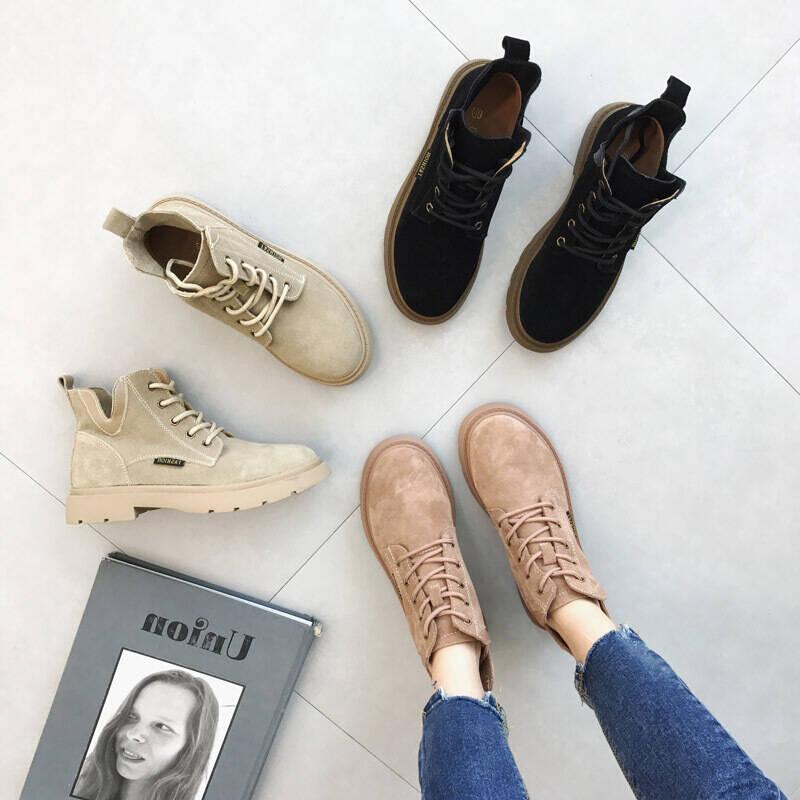 2021十款女士系带中筒靴推荐