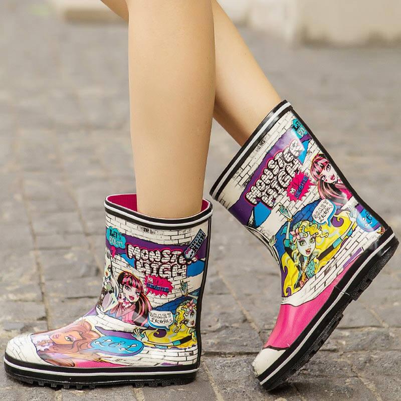 2021年女士雨鞋款式大全
