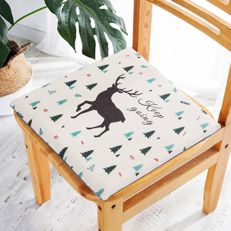九洲鹿 家居记忆棉慢回弹坐垫