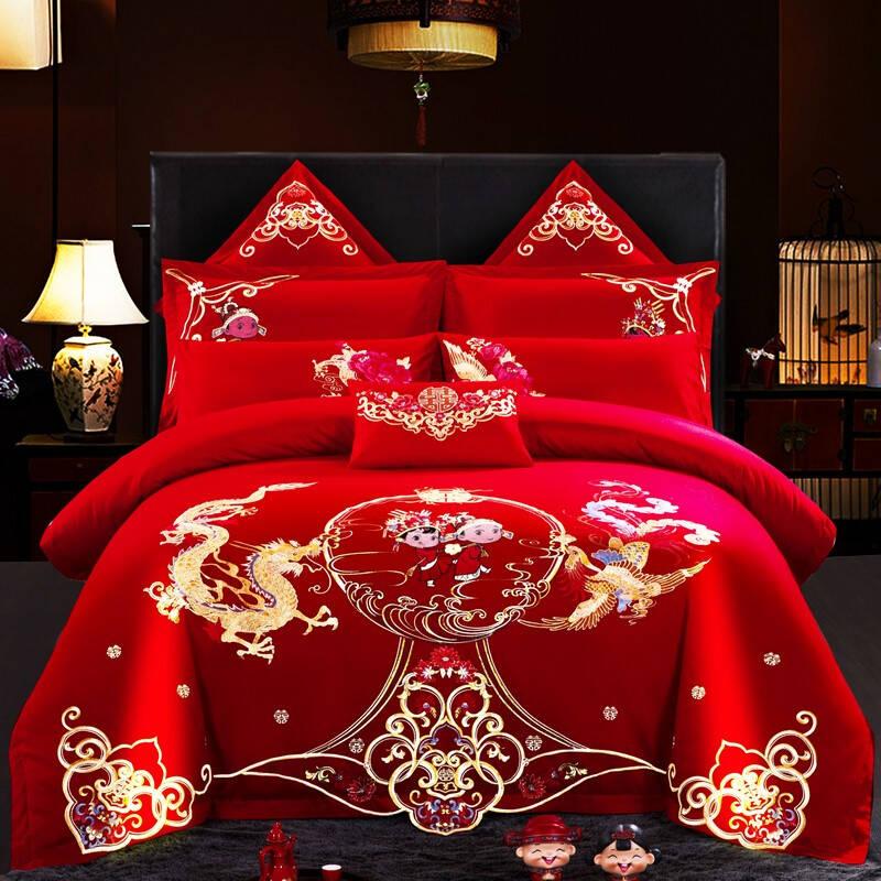 中式风格床品四件套排名前十