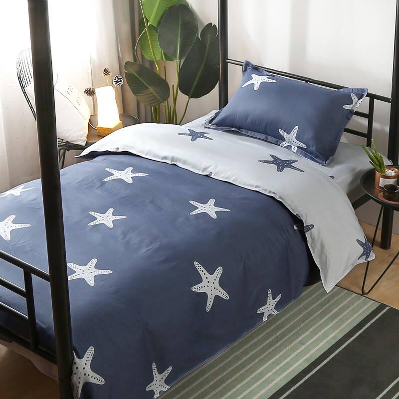纯棉三件套床单推荐前十名