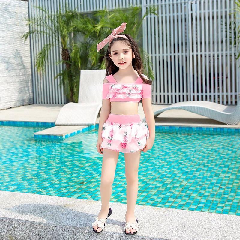 2021十款8岁女儿童游泳衣推荐