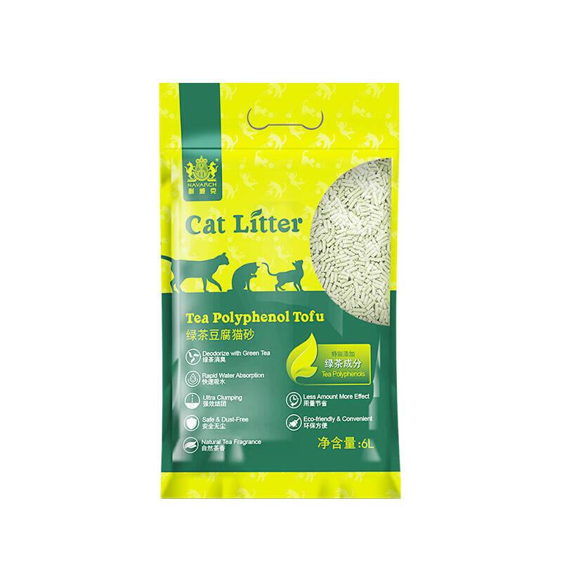 耐威克 绿茶豆腐结团猫砂