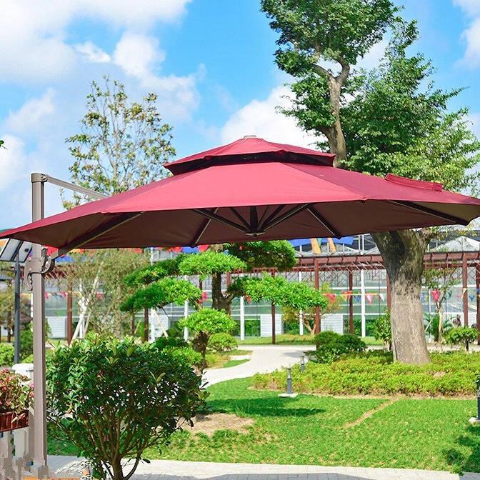 享受庭院生活户外遮阳伞排行榜