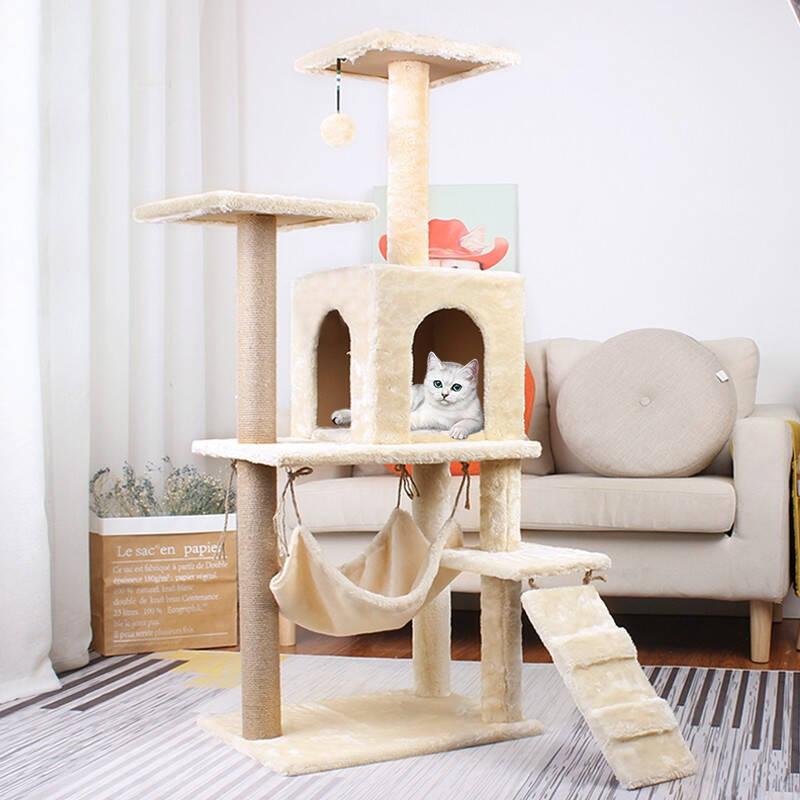 质地牢固经久耐用的猫爬架排行榜