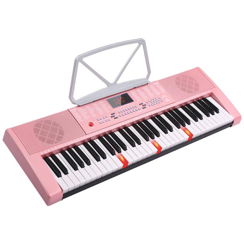 美科 亮灯跟弹电子琴