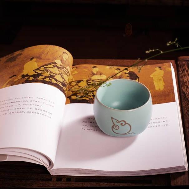 杯面光滑做工精细的陶瓷茶杯精选