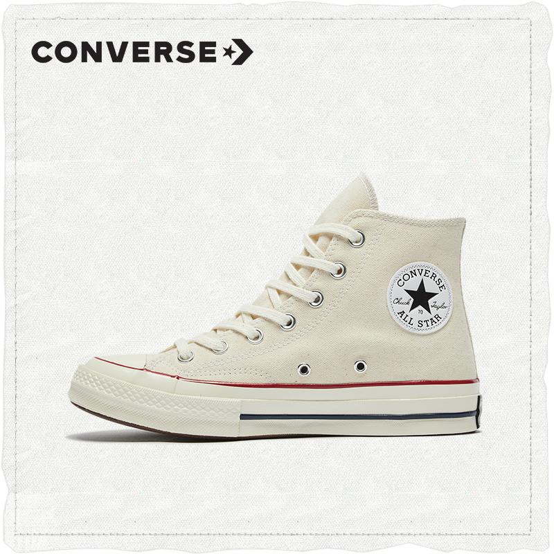 CONVERSE匡威官方Chuck70经典高帮复古帆布鞋