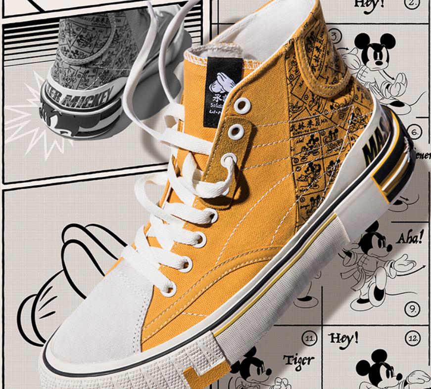 迪士尼|李宁联名系列帆布鞋