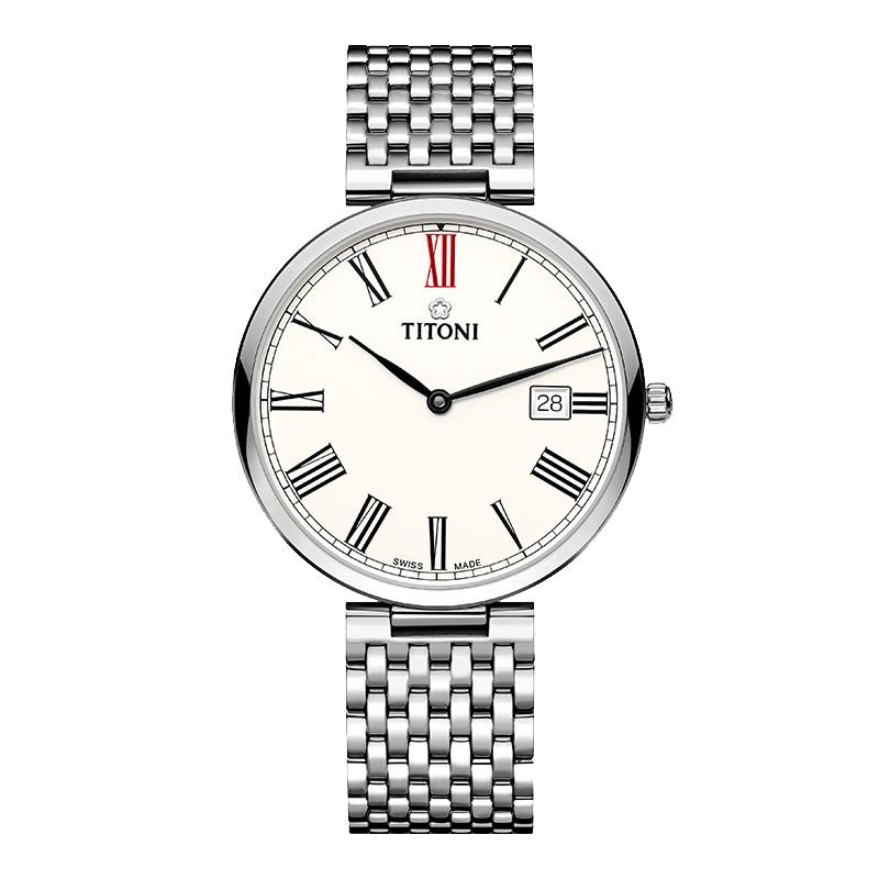 梅花 纤薄系列钢带手表