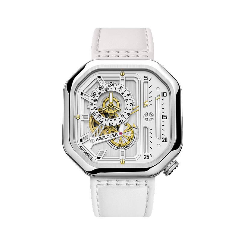 艾戈勒 时尚镂空自动机械手表