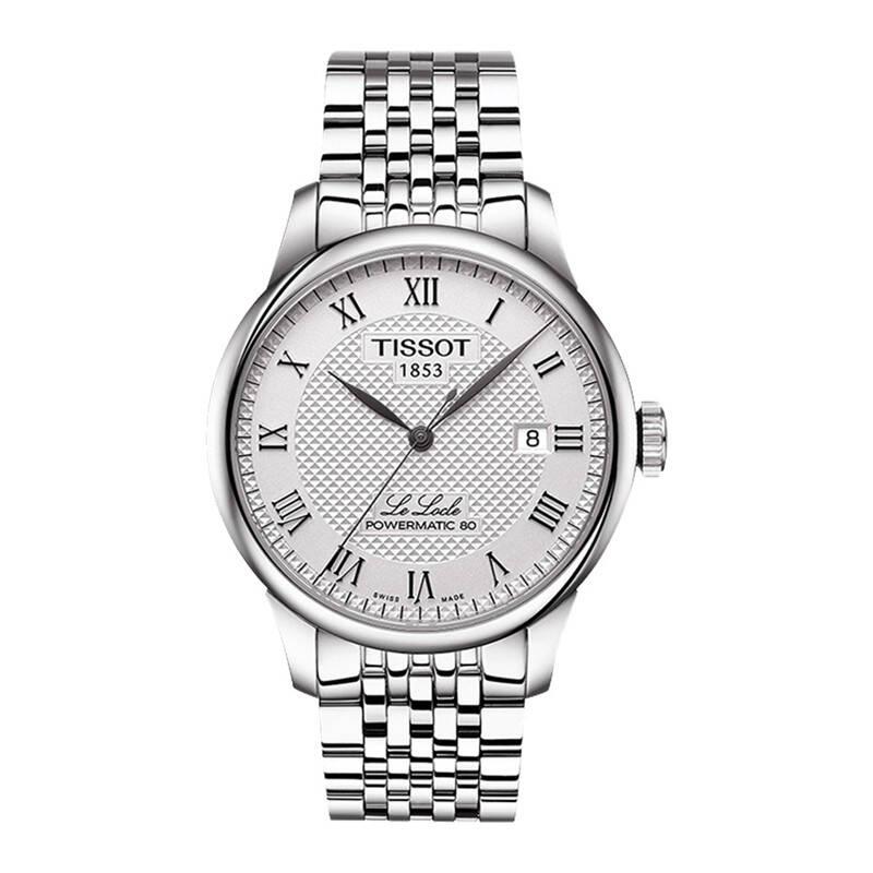 天梭 力洛克系列罗马数字手表