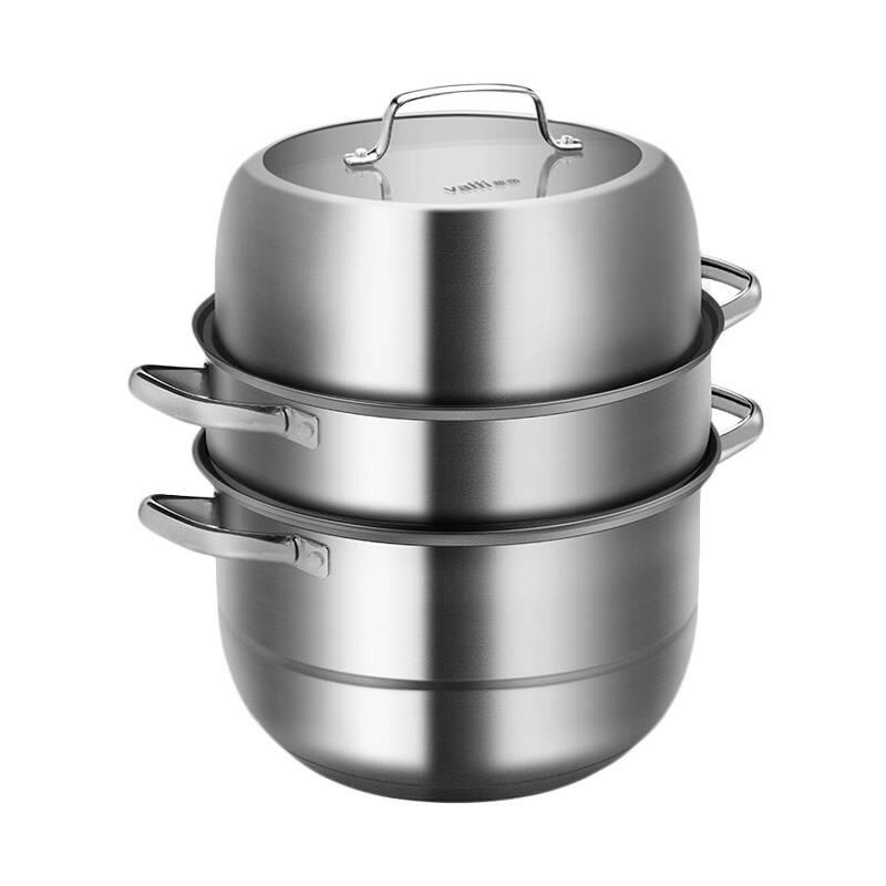 华帝 耐用不锈钢 蒸锅