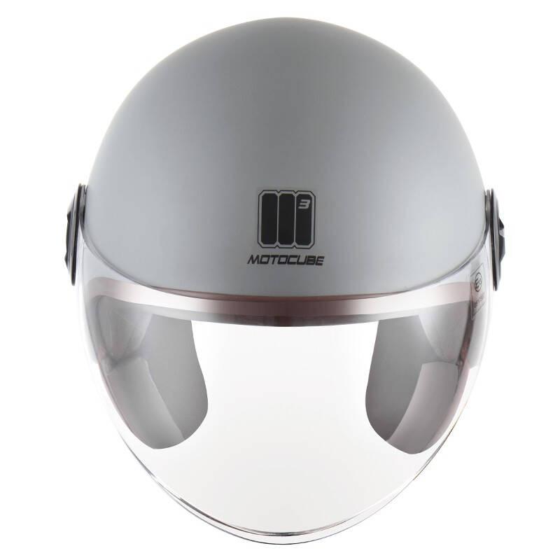 摩托立方 大镜片 电动车头盔