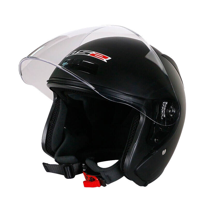 LS2 双通风防刮花头盔
