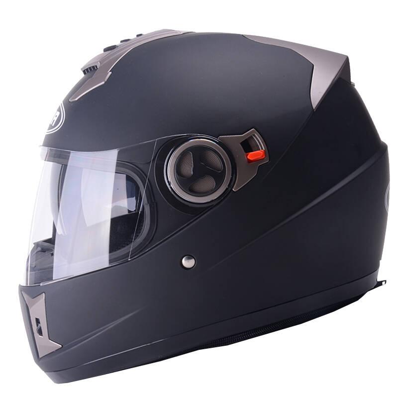 野马 双镜片 头盔