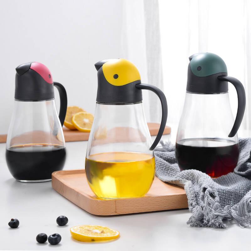 2021防漏油壶玻璃油瓶排行榜