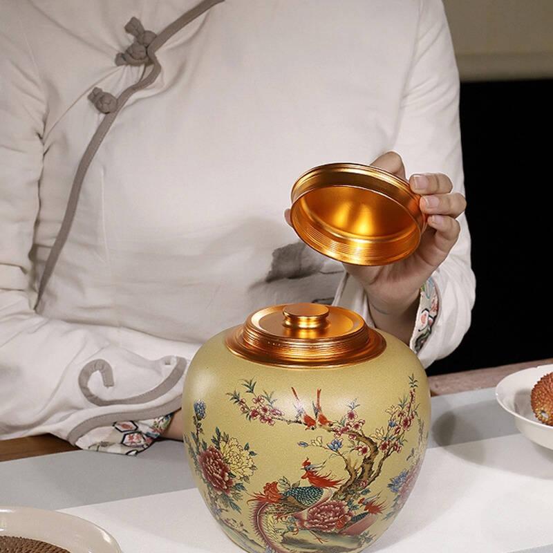 十大装普洱茶的茶叶罐推荐